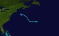 1911 Atlantic tropical storm 5 track.png