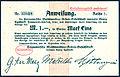 1916-09-30 Anweisung Reihe 1 Nr. 33008 Hannoversche Maschinenbau-Actien-Gesellschaft Hanomag Mark 1 Gustav ter Meer Erich Metzeltin.jpg