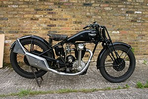 Triumph Engineering - 1929 Triumph prototype with bevel-gear OHC