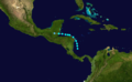1933 Atlantic tropical storm 17 track.png