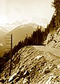 1934. New highway and Mt. Rainier. White River. Mt. Rainier National Park, Washington. (34858509976).jpg