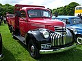1945 Chevrolet D-series (NAS 299) pick-up truck, 2012 HCVS Tyne-Tees Run.jpg