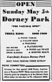 1946 - Dorney Park Ad - 04 May MC - Allentown PA.jpg