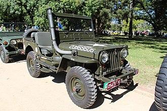 Jeep CJ - 1951 CJ-3A military version