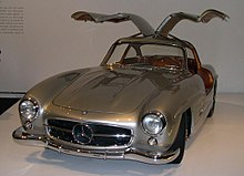 220Px 1955 Mercedes Benz 300SL Gullwing Coupe 34