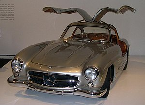 Mercedes-Benz W194 - 1955 Mercedes-Benz 300 SL Gullwing Coupé
