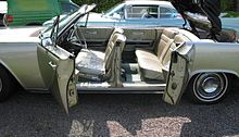 Lincoln Continental with rear suicide doors left side doors open & Suicide door - Wikipedia Pezcame.Com