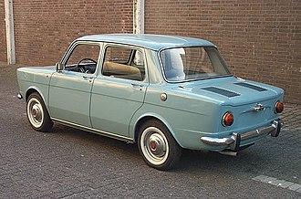 Simca 1000 - Image: 1963 Simca 1000 rear view
