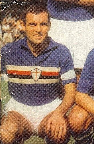 Mario Frustalupi - Frustalupi as Sampdoria captain in the 1966–67 season
