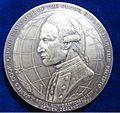 1969 James Cook NZ Bicentennial Silver Medal by James Berry. Obverse.jpg