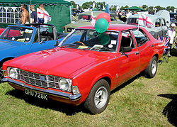 1974 Ford Cortina Mark III