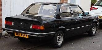 BMW 3 Series - E21