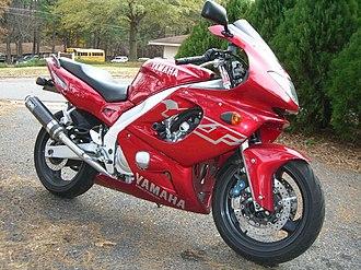 Yamaha YZF600R - Image: 1999YZF600R