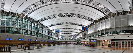 Pistarini International Airport terminal 199 - Buenos Aires - Aeroport international Ezeiza - Janvier 2010.jpg