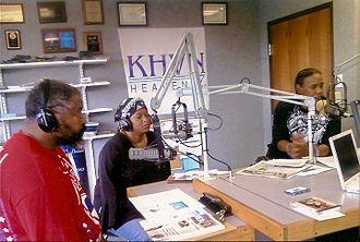 KHVN - Brenda Cherry along with Jim Blackwell on the Robert Ashley Show on KHVN.