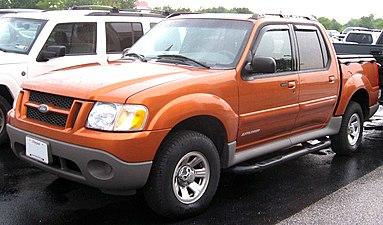 2001 Ford Explorer Sport Trac Xls