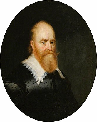 Lord Fraser - Portrait of Andrew Fraser, 1st Lord Fraser painted by George Jamesone.