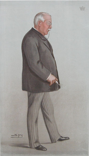 Evelyn Baring, 1st Earl of Cromer - Baring caricatured by Spy for Vanity Fair, 1902