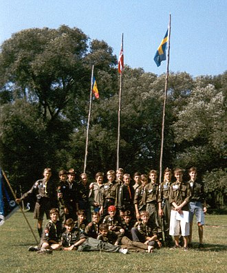 Scouting and Guiding in Ukraine - Participants of the 1st Ukrainian Scout Jamboree (1996)