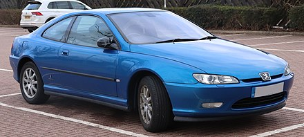 Peugeot 406 Coupe 2003 Peugeot 406 HDi Coupe SE 2.2 Front.jpg