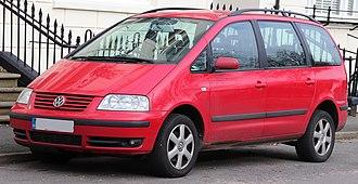 Volkswagen Sharan - Image: 2003 Volkswagen Sharan Carat T Di PD 1.9