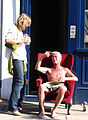 2005-08-28 - London - Notting Hill Carnival - Old Man in Chair (4888274302).jpg