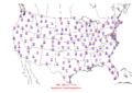 2006-04-20 Max-min Temperature Map NOAA.png