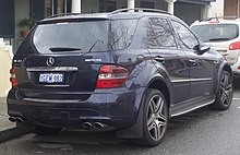 Mercedes Benz Ml 63 Amg Australia Pre Facelift