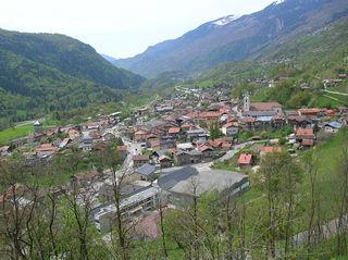 Aime Part of Aime-la-Plagne in Auvergne-Rhône-Alpes, France