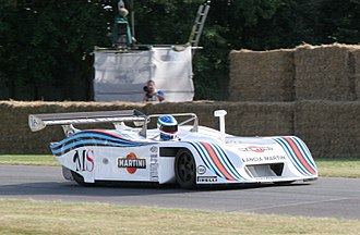 Michele Alboreto - A Lancia LC1 which Alboreto drove to three victories during the 1982 World Endurance Championship.