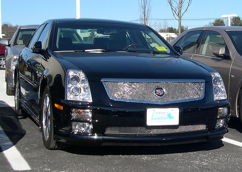 Cadillac STS. If you're in the market for a finely tailored luxury sedan