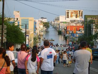 flood occurred in late October and early November 2007 in the Mexican states of Tabasco and Chiapas