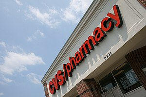 English: CVS/pharmacy on Garrett Road in Durha...