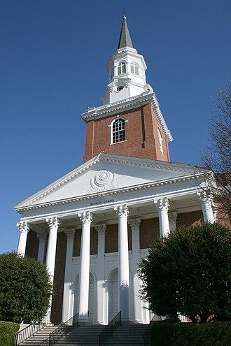 Southeastern Baptist Theological Seminary - Binkley Chapel