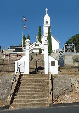 Eastern Orthodox Church in North America - St. Sava's Serbian Orthodox church in Jackson, California