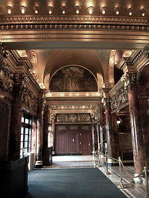 Cutler Majestic Theatre - Theatre lobby, 2009