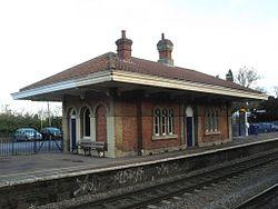 2012 at Mortimer station - up platform.JPG
