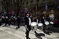 2013 Sechseläuten - Gesellschaft zu Fraumünster - Musikkorps - Bahnhofstrasse 2013-04-15 14-38-57.JPG
