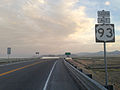 2014-06-10 19 54 39 View south along U.S. Route 93 Alternate just south of Wendover Boulevard in West Wendover, Nevada.JPG