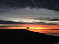 2014-12-19 07 35 52 Sunrise along Interstate 80 near Exit 4 in the Bonneville Salt Flats in Utah.JPG