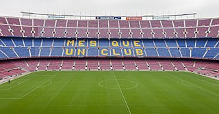 Stadium in Barcelona