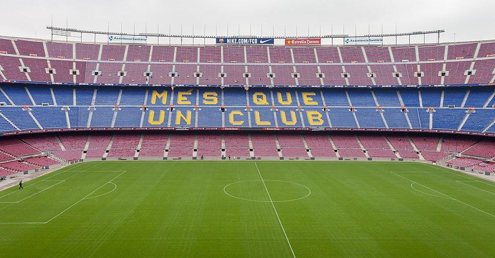 2014. Camp Nou. Més que un club. Barcelona B40