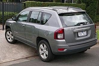 Jeep Compass - Jeep Compass Sport (Australia; facelift)