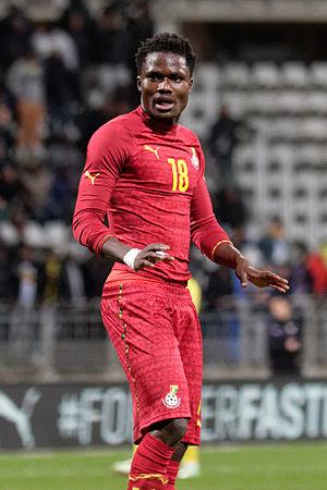 Daniel Amartey - Amartey playing for the Ghana national football team against the Mali national football team, 31 March 2015