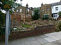 2015 London-Woolwich, Brent Road, vacant lot.JPG