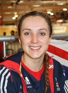 Elinor Barker Welsh racing cyclist