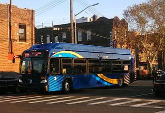 Church Avenue Line (surface) - A B35 bus in Brooklyn