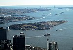 2016 One World Observatory view southsoutheast towards Governors Island.jpg