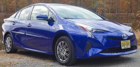 2016 Toyota Prius Two Eco (cropped).jpg