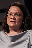 2017-05-09 Andrea Nahles (re-publica 17) by Sandro Halank–17 (cropped).jpg